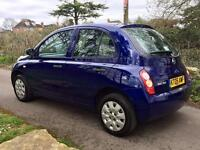 REDUCED IN PRICE!!!! NISSAN MICRA 1.2 S 5dr + SERVICED + NEW MOT + WARRANTY
