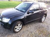 Suzuki Grand Vitara 2006 12 months warranty long mot low miles 1.6 petrol 4wd 3 door 4x4