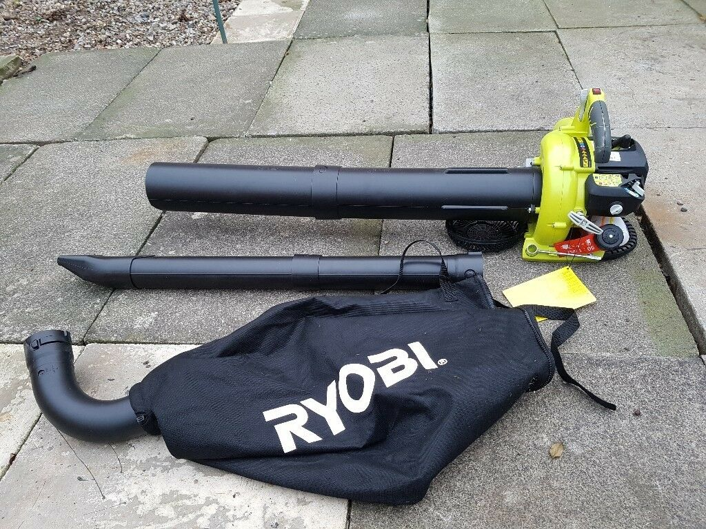 Ryobi petrol leaf blower/vacuum