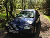 VW Passat 130 TDI Blue For Sale