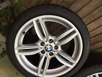 BMW F10 ALLOYS WITH TYRE