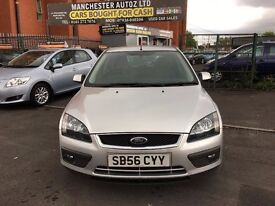 |Ford Focus 1.6 Zetec Climate 5dr FULL SERVICE HISTORY,2 KEYS,