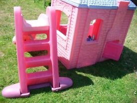 Little Tikes Playhouse AND Little tikes Slide