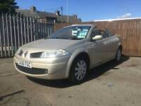 2007 56 renault megane convertible 1.6 summers here be quick
