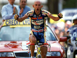 MARCO PANTANI TOUR DE FRANCE CHAMPION 1998 POSTER