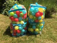 Plastic balls for ball pool