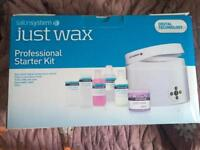 Brand new, Never Used, Professional Waxing Kit. Unwanted Gift. Collection From Crayford Only.