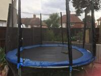 10ft trampoline with net sides