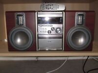 NEW PRICE - sound system Hi Fi PHILIPS MCM