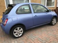 Nissan Micra 1.2 with Very Low Milage + Full Service History