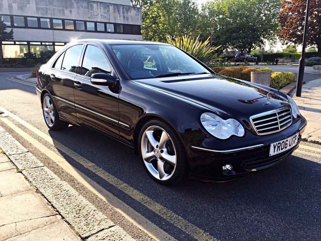 2006 06 mercedes benz c class c320 cdi sport sat nav in walthamstow london gumtree. Black Bedroom Furniture Sets. Home Design Ideas