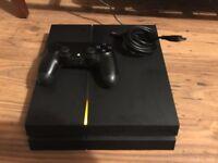 PlayStation 4 500GB Black. As new.