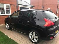 Peugeot 3008 Allure automatic 63 plate in Black