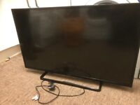 42inch lcd tv slight red line down screen
