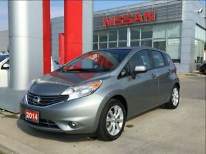 2014 Nissan Versa Note SL, heated front seats, Bluetooth, camera