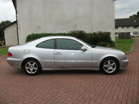 mercedes coupe c 200 kompressor mot till feb 17 2001