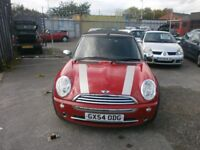 MINI ONE 1.6 CONVERTIBLE ONLY DONE 56,000 MILE'S £1,000