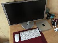 "Apple Mac mini 2012 * 23"" 1080p IPS monitor * Apple Magic Mouse * Apple wireless keyboard"