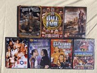 Wrestling DVDs Job Lot WWE WWF Bundle Hardy Boys