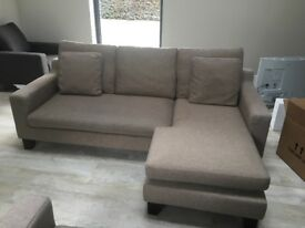 Dwell Ankara sofas x 2 in Oatmeal colour EXCELLENT CONDITION