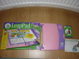 LeapFrog Leappad Learning System Pink For Sale