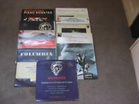 Collection of classical records featuring Beethoven 1950's - 1960's inc symphony no 3,4, 5 & 9