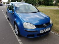 2005 Volkswagen Golf 1.9 TDI SE 5d Fully HPI Clear Service History @07541423568@