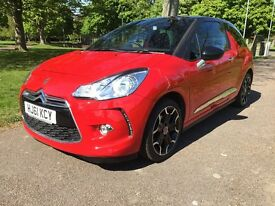 2011 Citroen Ds3 1.6 e HDI Airdream Dstyle Plus FSH 1 Owner £0 Road Tax