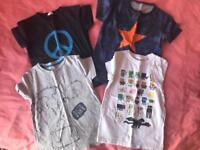 Bundle boys clothes (15 items). Age 4-8yrs. Mini Boden, etc