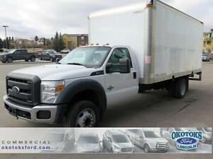 2013 Ford F-550 Box Van