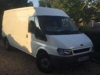 Long wheel base medium roof Transit the perfect Builders van. Very low mileage , Very clean van