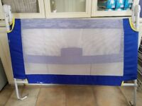 Kids bed rail - blue. Excellent and very clean condition. Suitable for baby unto older kids