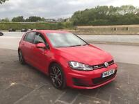 2015 15 VW GOLF 2.0 GTD MANUAL FULLY LOADED BI XENONS LOW MILLAGE 8k ONLY MUST SEE BARGAIN