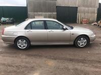 2003 ROVER 75 1.8 LOW MILEAGE MOT UNTIL JULY