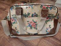 Floral weekend bag