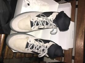 Balenciaga Neoprene-Strap High-Top Sneakers size 10 good condition receipt box , tags available