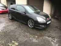 Honda Civic type r 2004 facelift. Ep3 k20