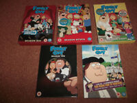 DVD ♥ Family Guy Seasons 6,7,8,9,10 ‹(◕‿◕)›