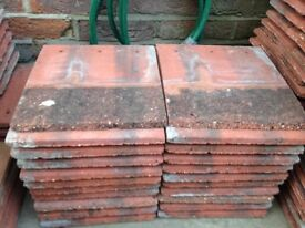 Redland Farmhouse Red used concrete tile and half tiles