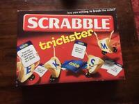 Scrabble Trickster Board Game