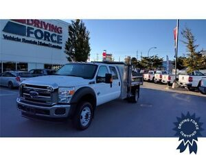 2014 Ford Super Duty F-550 XLT - Dump Bed, Tool Compartments