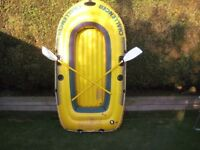 intex challenger 300 Inflatable Dinghy Fishing Boat River Raft
