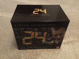 24 SEASONS 1-8 PLUS REDEMPTION DVDS