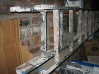 aluminium two section extending ladder