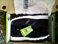 Brand new black steel toe cap trainers. Never been worn.