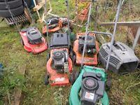 lawn mowers great winter project
