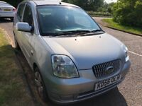KIA Picanto LX 1086cc Petrol 5 speed manual 5 door hatchback 56 Plate 17/11/2006 Silver