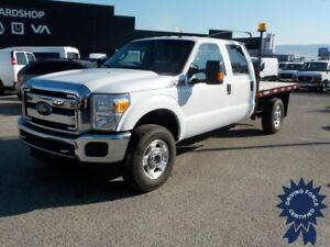 2015 Ford Super Duty F-350 SRW XLT 8 Ft Flat Deck Truck, Seats 6