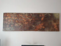Large original canvas painting by English Artist