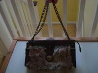 Cute small fluffy Zara Bag